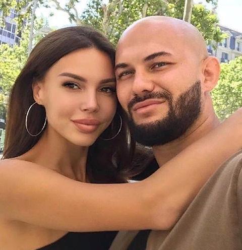 Джиган с женой Оксаной Самойловой