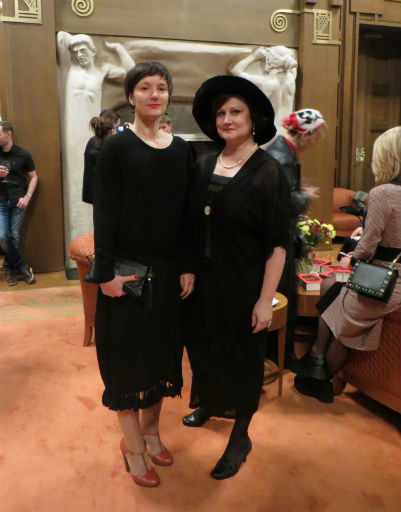 Хореограф Анна Оболихина и Марина Изюмская
