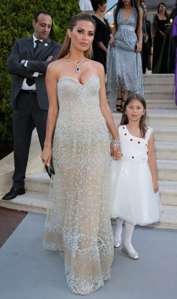 Дочь Виктории Бони часто видится с отцом