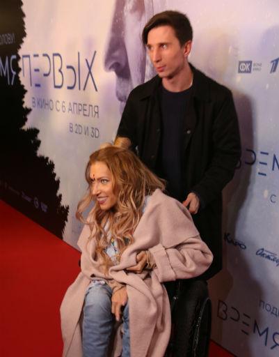 Юлия Самойлова с супругом Алексеем