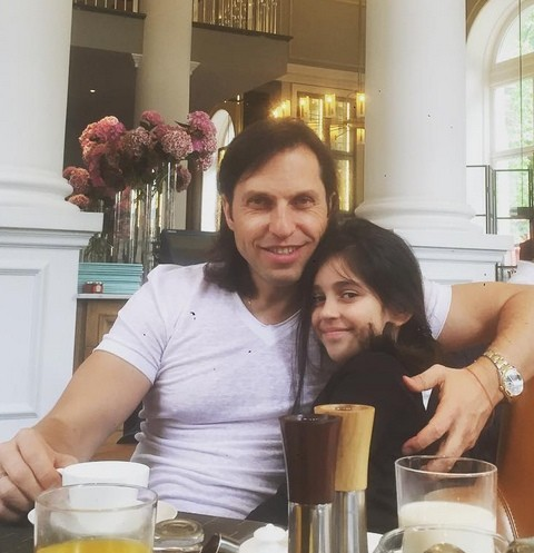 Александр Ревва с дочерью Алисой
