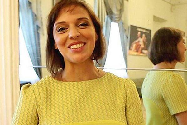 Нелли Уварова во время второй беременности