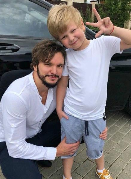 Антон Гусев редко видится с сыном