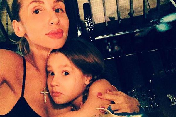 Светлана Лобода с дочкой Евангелиной