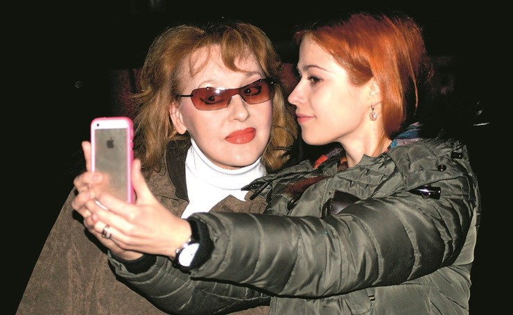 Татьяна Кирилюк и Людмила Милявская