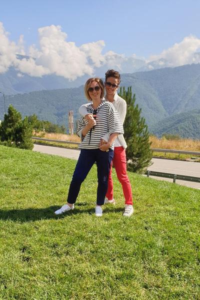 Елена с сыном Тимофеем