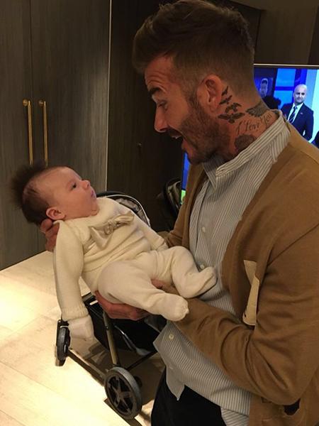 Пэгги с дядей Дэвидом