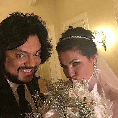 Филипп Киркоров и Анна Нетребко