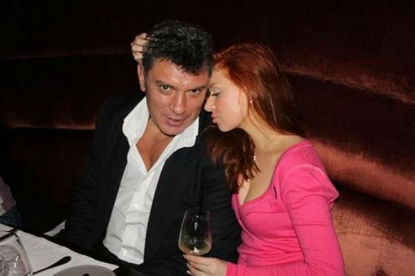 Борис Немцов нежно относился к Анне Дурицкой