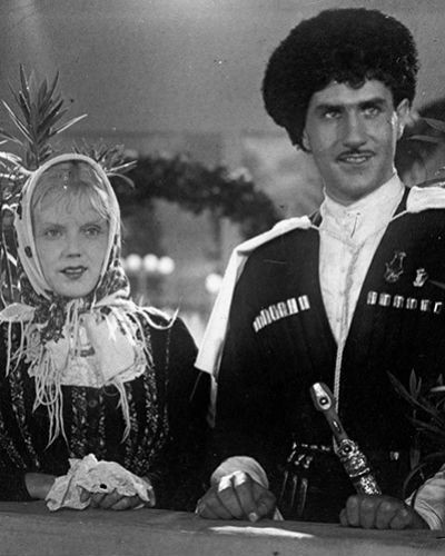 Кадр из фильма «Свинарка и пастух», 1941 год