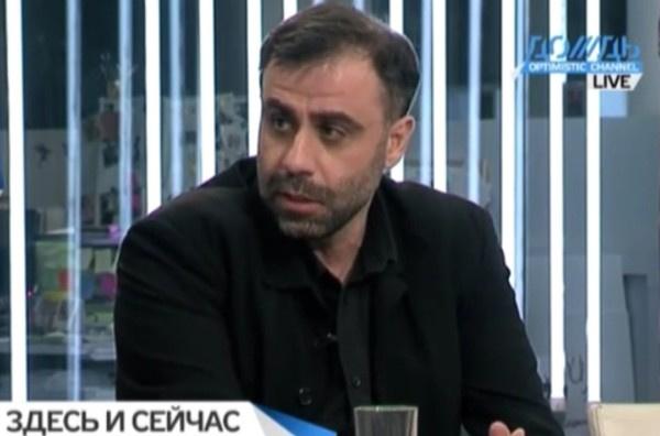 Режиссер Дмитрий Мамулия часто поддерживает благотворительные акции в эфире