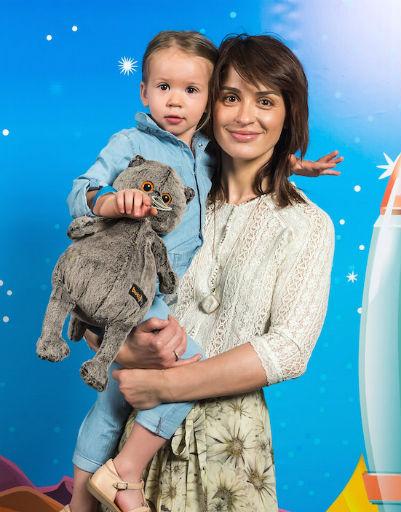 Ирина Муромцева  с дочерью
