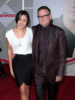 Робин Уильямс с дочерью Зельдой