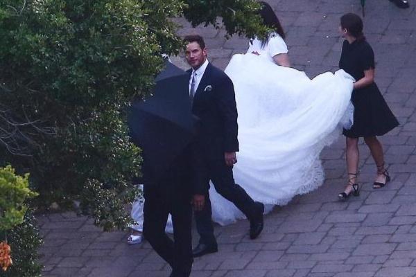 Свадебная церемония прошла восьмого июня