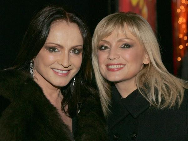 София Ротару с сестрой Аурикой