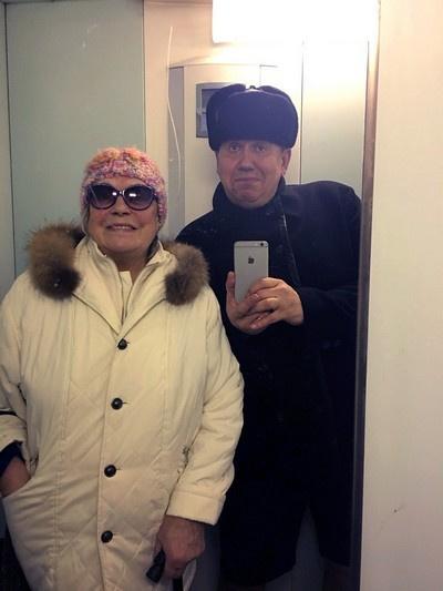 Лидия Федосеева-Шукшина и Станислав Садальский
