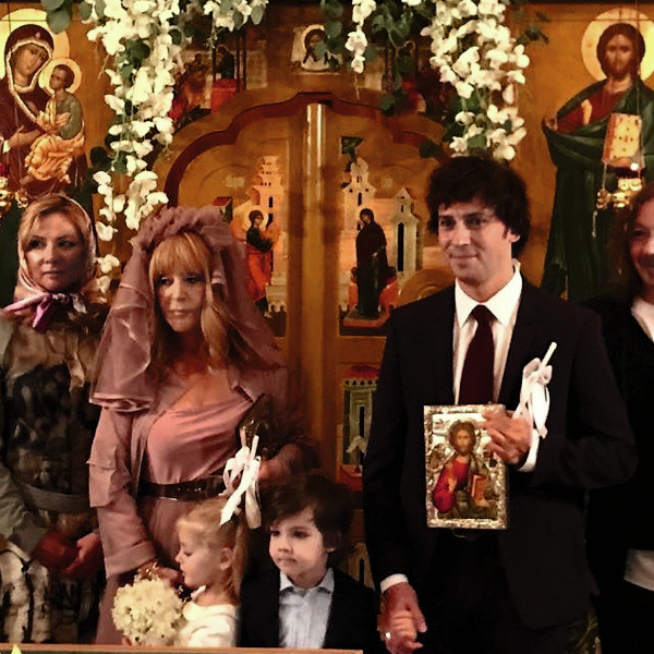 Мила Ставицкая была свидетельницей на тайном венчании пары осенью 2017-го
