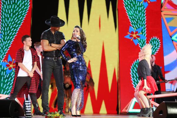Приглашенная звезда Наталия Орейро зажгла на сцене