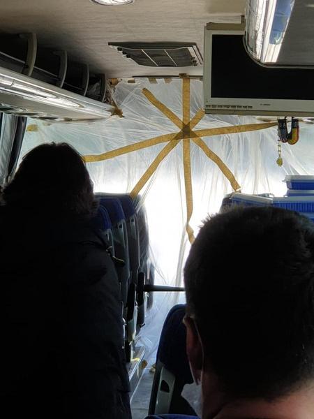 До санатория туристы добирались в сопровождении ОМОНа