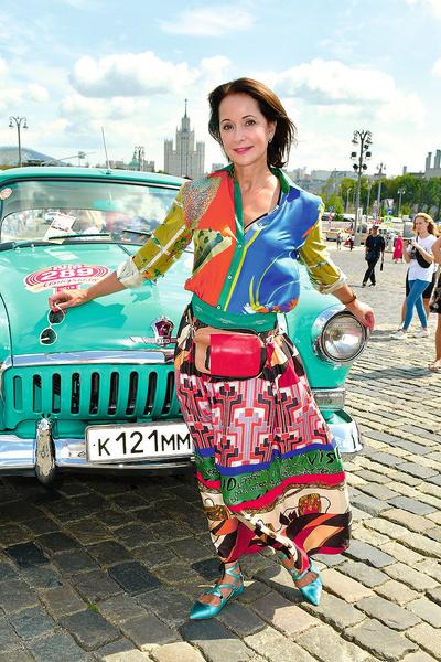 Актриса на «ГУМ Авторалли», Москва