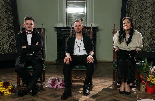 Тимофей Руденко, Григорий Кузнецов и Аида Грифаль