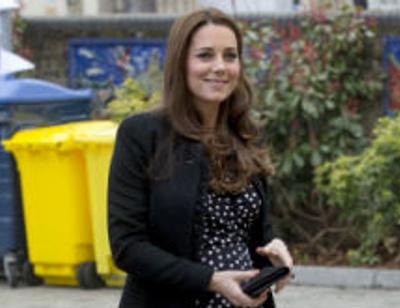 Кейт Миддлтон впервые назвала дату своих родов