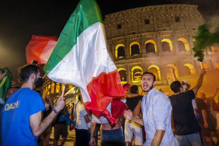 Самые масштабные празднования прошли в Риме