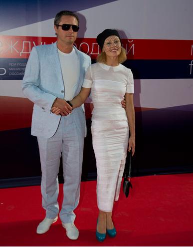 Алена Бабенко с мужем