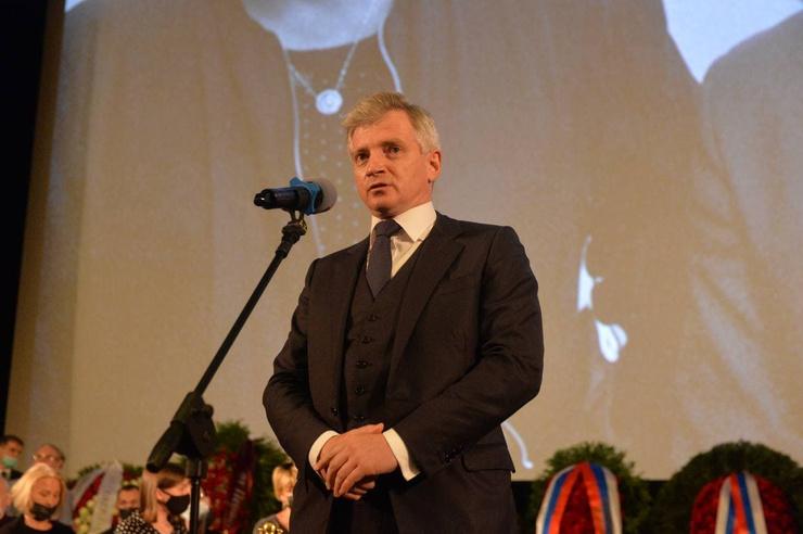 Руководитель департамента культуры Москвы Александр Кибовский