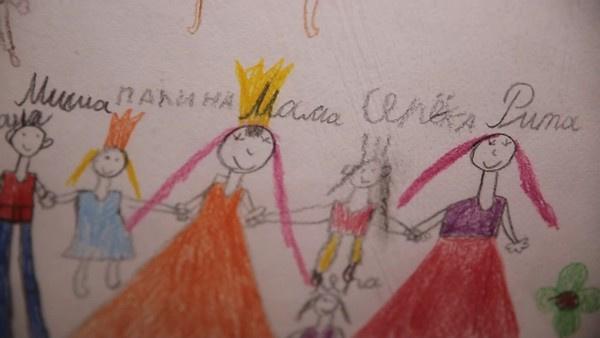 Рисунки детей семь Дель