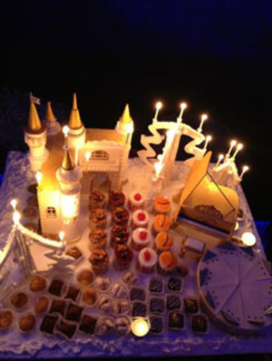 Кристина Орбакайте: «Новогодний торт ввиде замка, красота и вкуснота!»