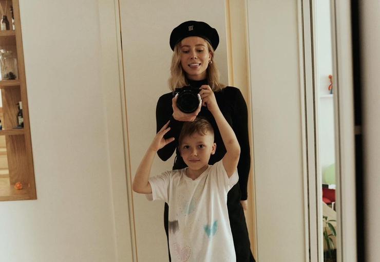 Юлия Коваль с сыном живут отдельно и счастливо