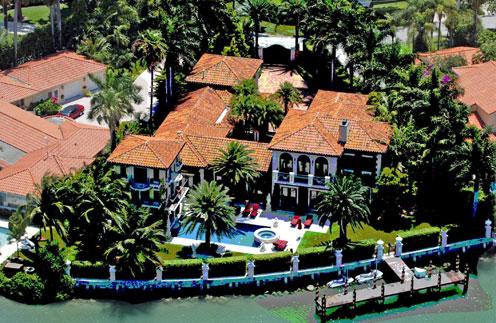 Анна Курникова продала виллу в Майами