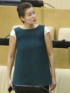 Мария Кожевникова на заседании Госдумы 19 сентября