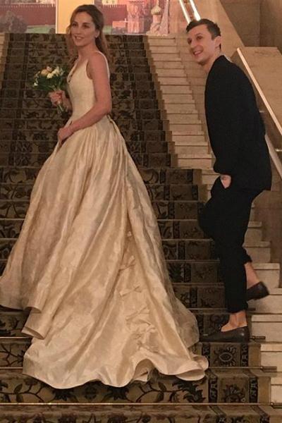 Максим Нестерович и Екатерина Решетникова