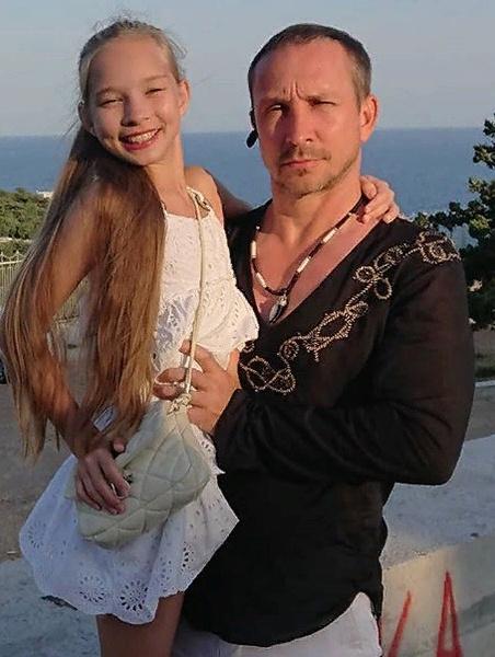 Данко со старшей дочерью Софьей