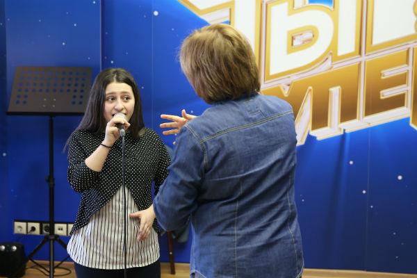 Репетиция с главным педагогом по вокалу Натальей Ефименко