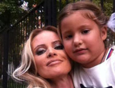 Дана Борисова сделала семилетней дочке модное окрашивание