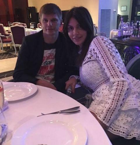 Андрей и Алиса Аршавины