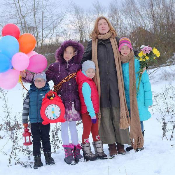 Светлана Дель надеется, что у нее получится вернуть всех изъятых детей