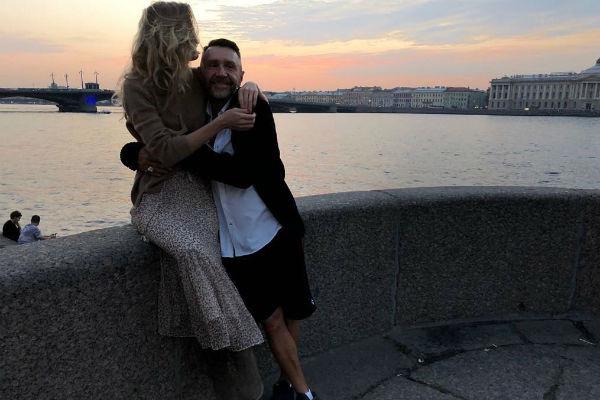 Сергей Шнуров и его новая жена