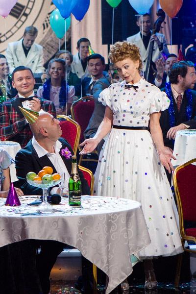 Валерия в образе молодой Людмилы Гурченко