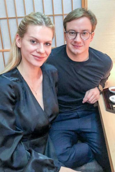 Старший сын Добровольской женился на модели из Словакии
