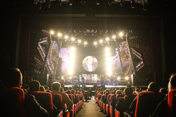 Концерты прошли при полном аншлаге