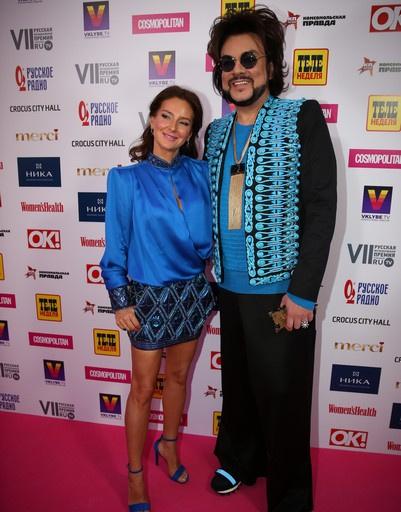Елена Север и Филипп Киркоров