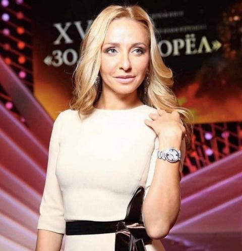 Олимпийская чемпионка Татьяна Навка