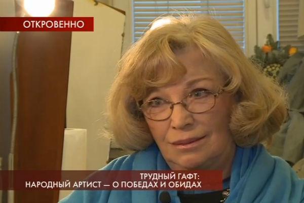 Остроумова не любит рассказывать о самочувствии мужа
