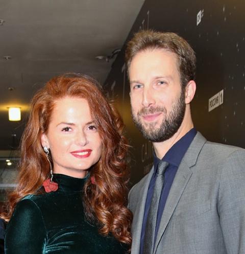 Елена Ландер с мужем