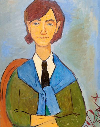 Портрет в стиле Амедео Модильяни – презент от «девушек фабричных»