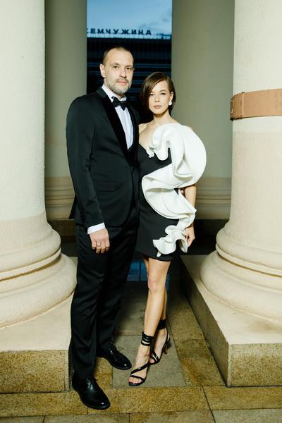 Катерина Шпица с супругом